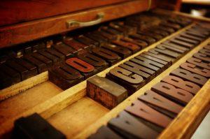 tipos de letra madera